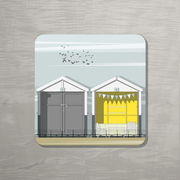 Beach Huts coaster  MUCL 72