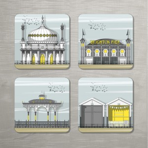 Brighton Coasters Set MUCL 300