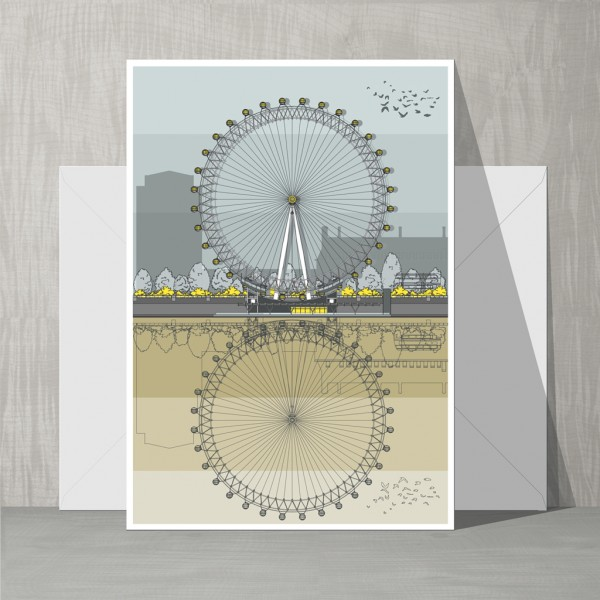 Card London Eye GLT 72
