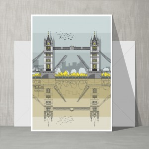 Card Tower Bridge GLT 72