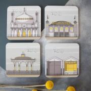 LIN Coasters Brighton Set 72