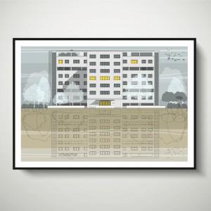 LIN Frame Palace SF 72