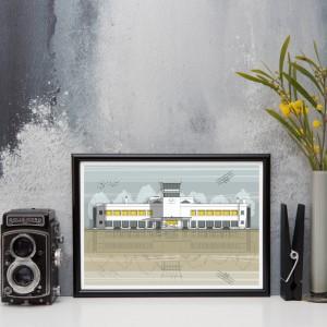 LIN Frame Shoreham MI 300