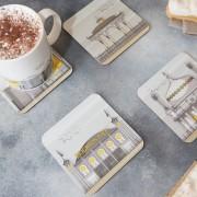 LIN coaster:mug Brighton Set 3 72