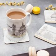 LIN coaster:mug London 2 72