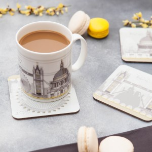LIN coaster:mug London 2 72