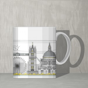 London Mug CL GB 600
