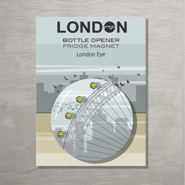 London Eye Bottle opener LTPCL 72
