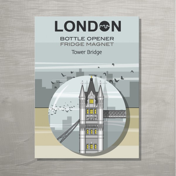 Tower Bridge Bottle opener PCL 72