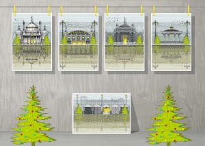 Brighton Christmas Cards