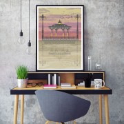 LIN Frame Bandstand Sunset DE 72
