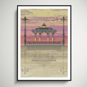 LIN Frame Bandstand Sunset SF 72
