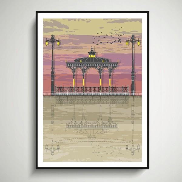 LIN Frame Bandstand Sunset SF 72
