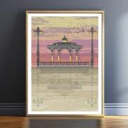 LIN Frame Bandstand Sunset TF 1