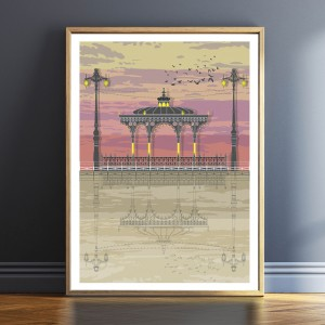 LIN Frame Bandstand Sunset TF 1