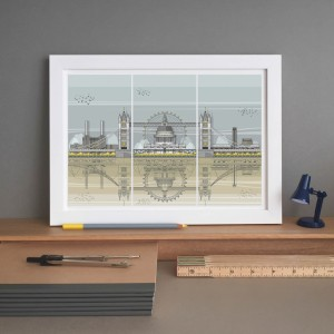 LIN Frame London Triptych ST 72