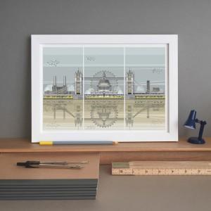 LIN Frame London Triptych ST 72