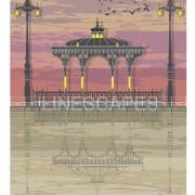 LIN Print Bandstand Sunset A4 300 WM