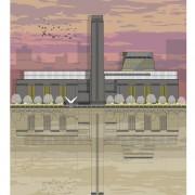 LIN Print Tate Sunset A4 72
