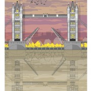 LIN Print Tower Bridge Sunset A4 72