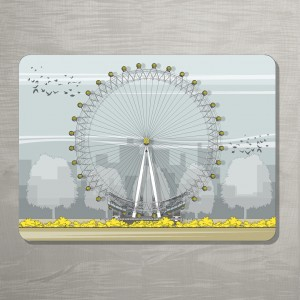 LIN London Eye Placemat 72