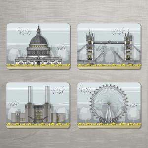 LIN London Placemat Set 72