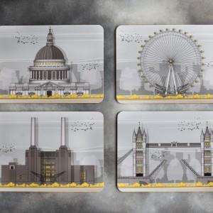 LIN Placemat set London T 72