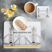 LIN Placemat:coaster Tower Bridge T 72