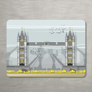 LIN Tower Bridge Placemat 72