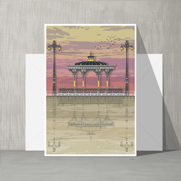 LIN Card Bandstand Sunset G