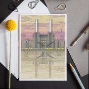 LIN Card Battersea Sunset LF