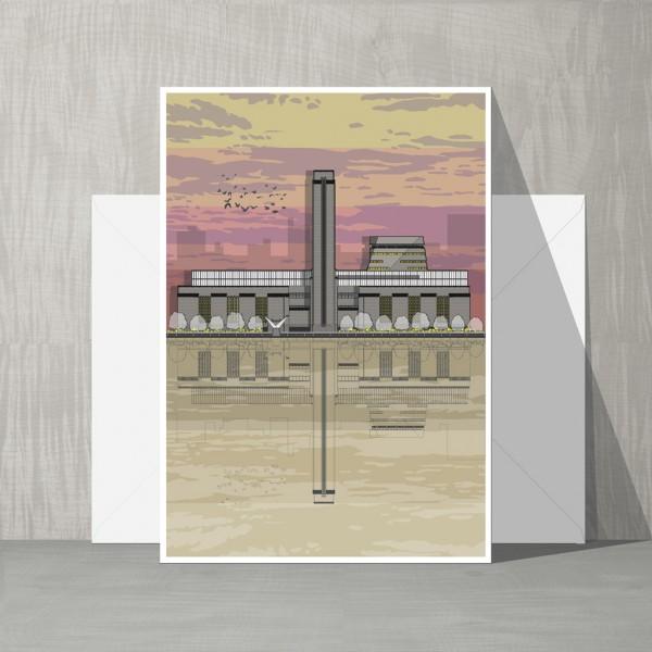 LIN Card Tate Sunset