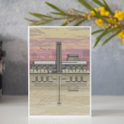 LIN Card Tate Sunset GB