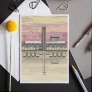 LIN Card Tate Sunset LF